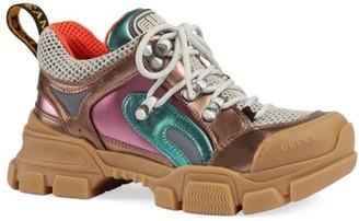 Gucci Little Kid's & Kid's Flashtrek Leather Sneakers