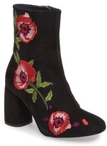 Topshop Women's Madam Embroidered Bootie