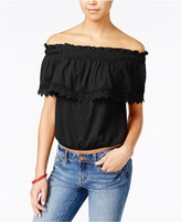 American Rag Off-The-Shoulder Popover Top, Only at Macy's