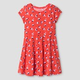 Cat & Jack Girls' Floral Print Dress Cat & Jack - Coral