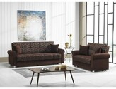 """Thumbnail for your product : Winston Porter Amman 86"""" Chenille Rolled Arm Sleeper"""