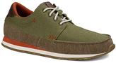 Sanuk Olive & Brown Beer Runner Sneaker - Men