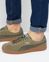 Puma Bluebird Sneakers In Green 36240106