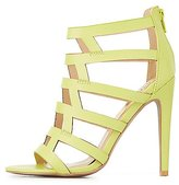 Charlotte Russe Qupid Caged Dress Sandals