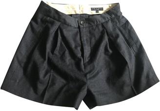 Rag & Bone Black Wool Shorts for Women