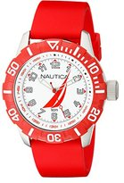 Nautica Men's NAD08506G NSR 100 J-Class Analog Display Japanese Quartz Red Watch