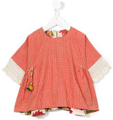 Pero Kids - checked blouse - kids - Cotton - 4 yrs