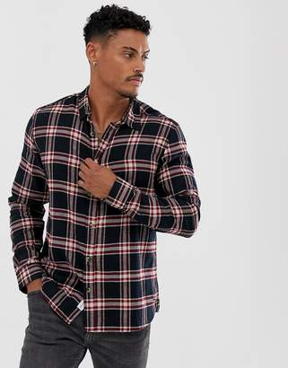 ONLY & SONS check shirt-Black