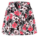 Etro Floral-printed silk shorts