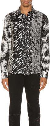 Givenchy Long Sleeve Shirt in Natural   FWRD