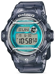 G-Shock Baby-g Digital Jelly Watch, 45.9mm