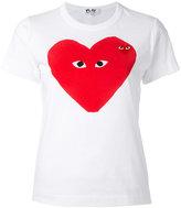 Comme des Garcons heart print T-shirt