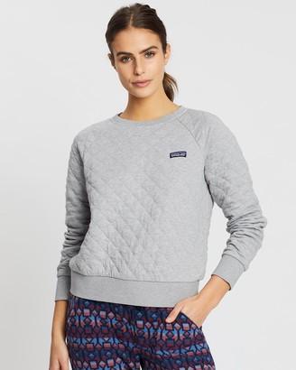 Patagonia Women's Organic Cotton Quilt Crew Sweater