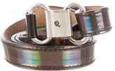 Alexander McQueen Skinny Leather Belt