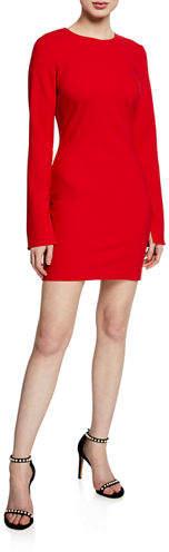 LIKELY Manhattan Long-Sleeve Mini Dress