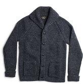 Ralph Lauren Cotton-blend Shawl Cardigan