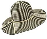Condura Stripe Wide Brim Hat