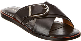 Joie Panther Leather Sandal