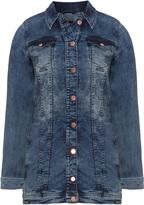 Zizzi Plus Size Fitted denim jacket