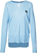 Rochas logo sweater