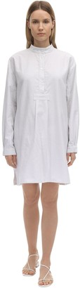 Short Cotton Pajama Shirt