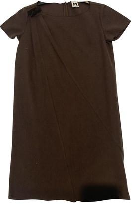 M Missoni Brown Wool Dresses