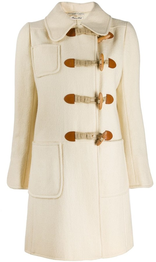 Ungaro Pre Owned 1960s short duffle coat
