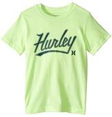Hurley Short Sleeve Retreat Tee (Little Kids)