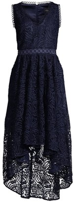 Shoshanna Allona High-Low Lace Dress