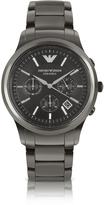 Emporio Armani Renato - Polished Black Ceramic Watch