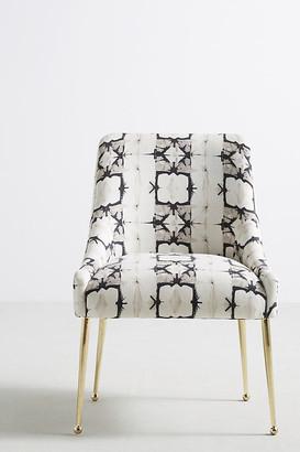 Anthropologie Minara-Printed Elowen Chair By in Grey