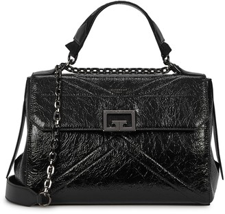 Givenchy ID medium black leather shoulder bag