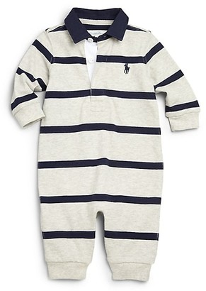 Ralph Lauren Baby Boy's Cotton Rugby Coverall