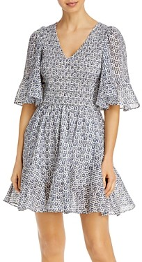 Rebecca Taylor La Vie Petula Smocked Dress
