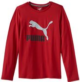 Puma Boys 8-20 Logo Tee