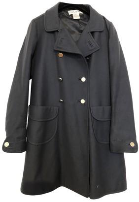 Paul & Joe Navy Wool Coat for Women