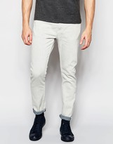 Weekday Friday Skinny Jeans in Stretch Reply Off White