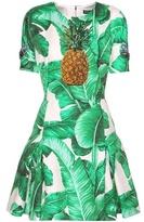 Dolce & Gabbana Embellished Jacquard Dress