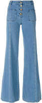 Chloé flared jeans - women - Cotton/Polyester - 36
