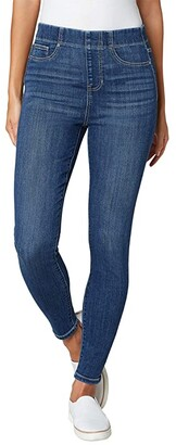 Liverpool Chloe Pull-On High-Rise Ankle Skinny in Newton (Newton) Women's Jeans