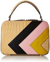 Orla Kiely Croc Applique Leather Mini Bethan Bag