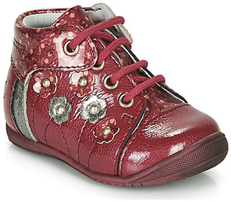 GBB NAYANA girls's Mid Boots in Red