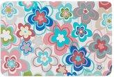 "KESS InHouse Jolene Heckman ""A Marsala Morning"" Multicolor Floral Memory Foam Bath Mat"