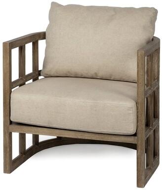 Mercana Home Furniture & Decor Skylar Ii Wooden Accent Chair