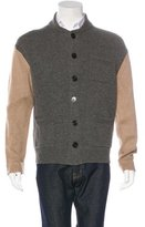 Dries Van Noten Wool-Blend Contrast Cardigan