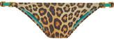 Vix Murad Leopard-print Bikini Briefs - Brown