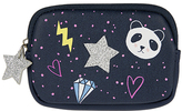 Accessorize Applique Panda Badge Purse