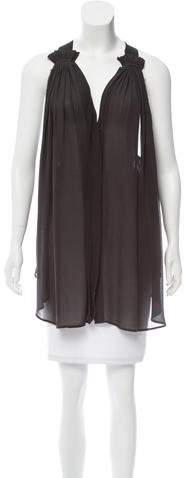 Isabel Marant Sleeveless Silk Tunic
