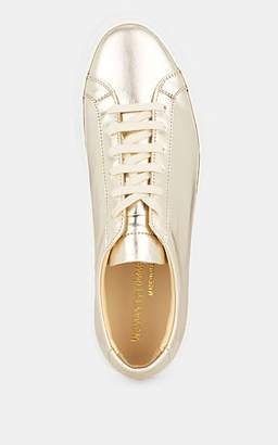 Common Projects Women's Achilles Metallic Leather Sneakers - Gold