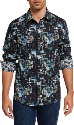 Robert Graham Men's Idewild Patterned Sport Shirt